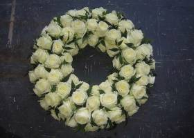 Large Rose Wreath
