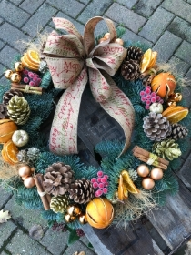 Lemon Cinnamon Wreath